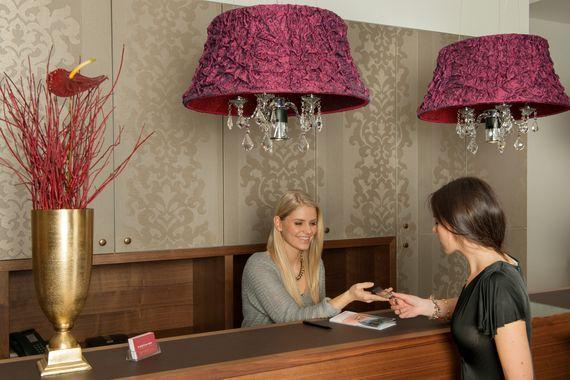 Empfang - Pertschy Palais Hotel - Wien Zentrum