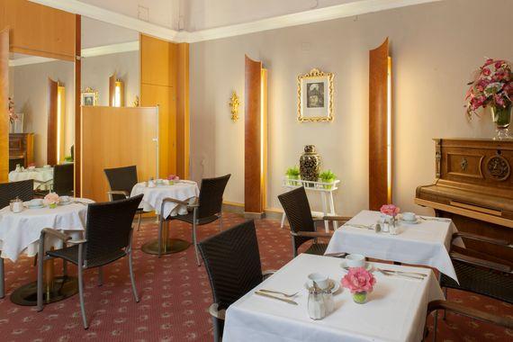 Brauner Frühstückssalon - Pertschy Palais Hotel - Wien Zentrum