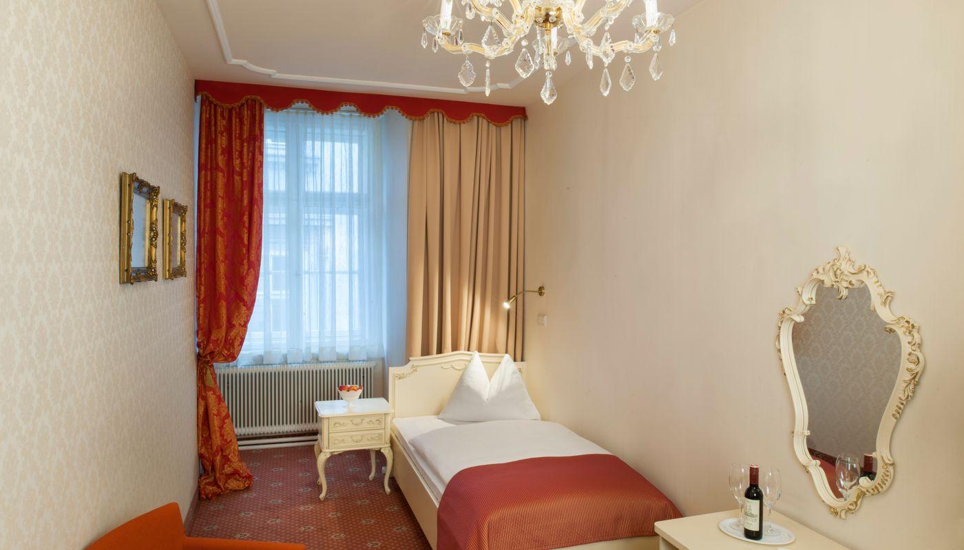 Einzelzimmer Deluxe - Pertschy Palais Hotel