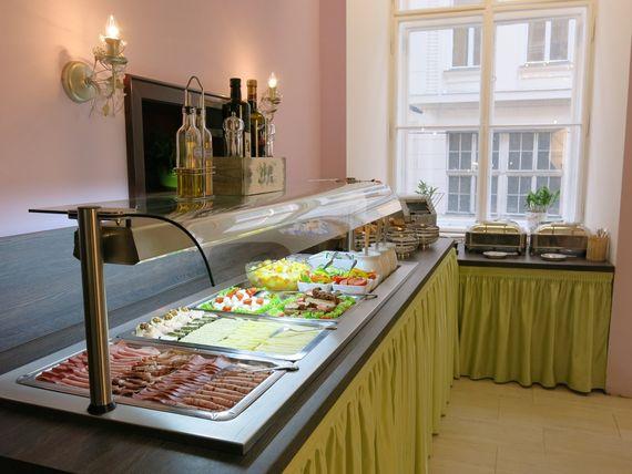 Frühstücksbuffet - Pertschy Palais Hotel - Wien Zentrum