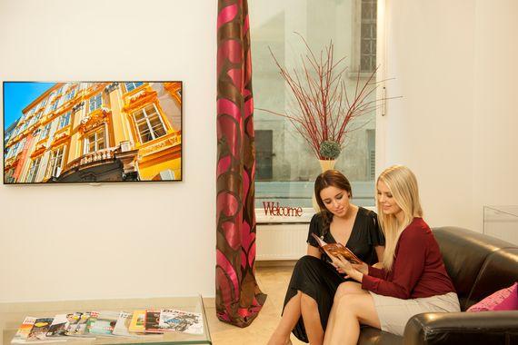 Lounge - Pertschy Palais Hotel - Wien Zentrum