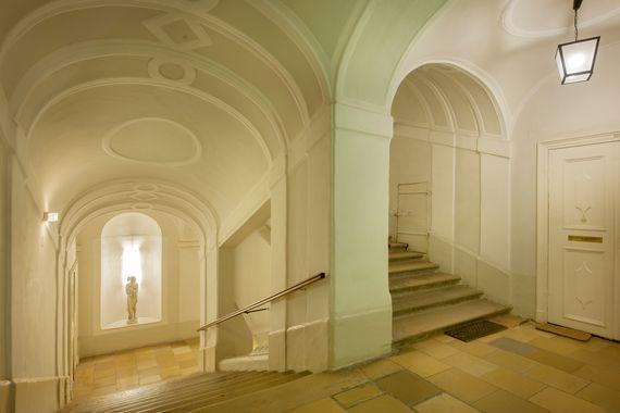Treppenaufgang - Pertschy Palais Hotel - Wien Zentrum
